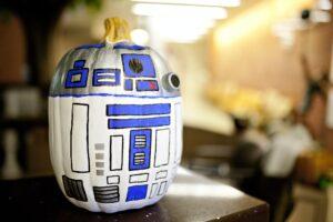 Star Wars jack o lantern